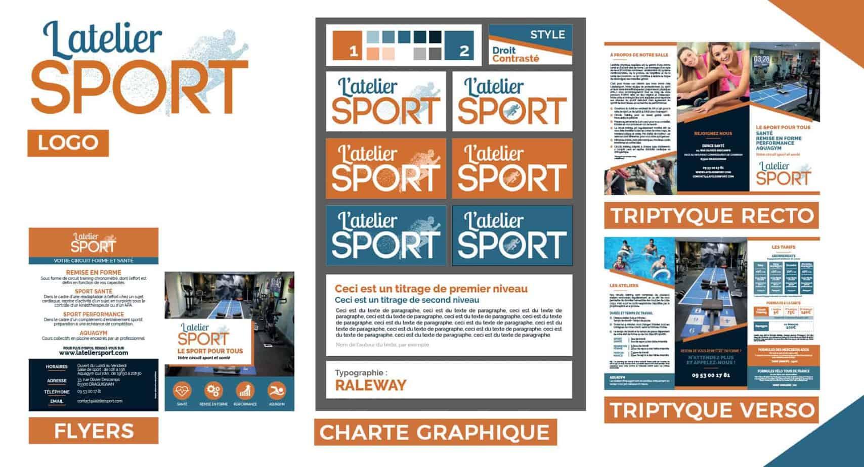 Latelier Sport Realisations par Thomas GANET