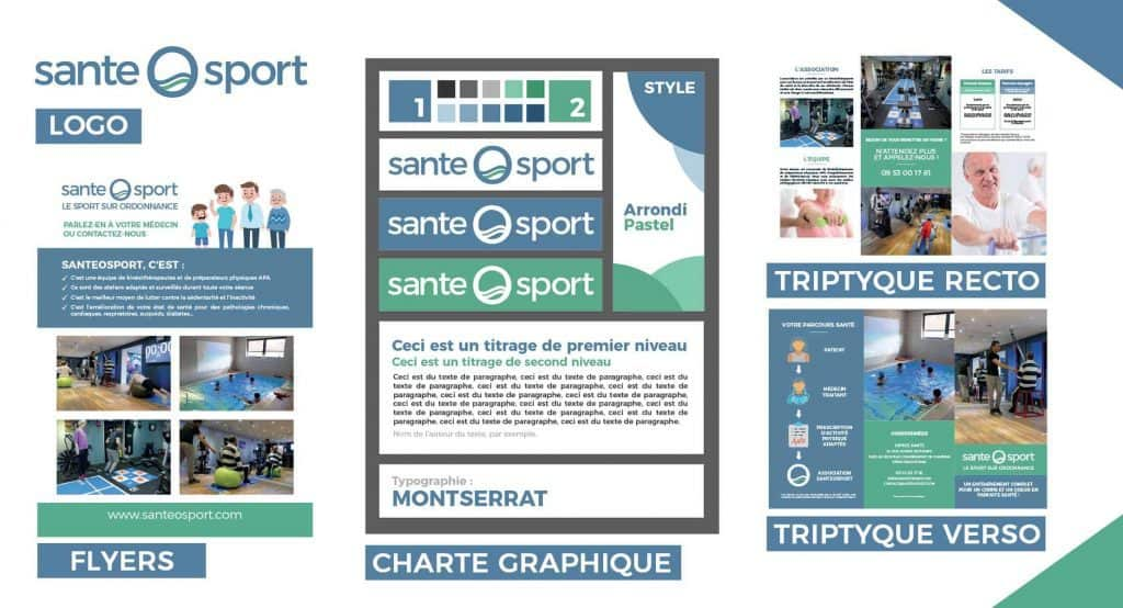SanteOSpor Realisations par Thomas GANET