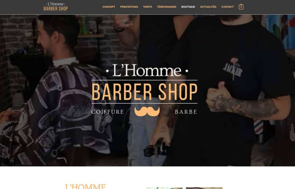 L'homme Barber Shop